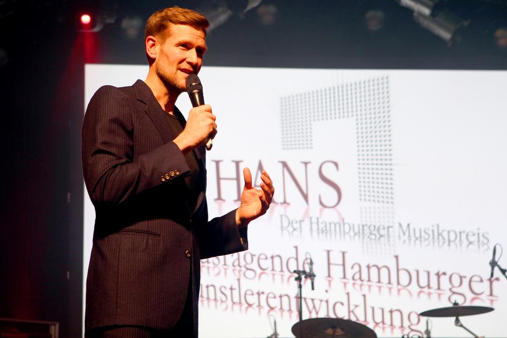 HANS 2014 / Moderator Götz Bühler (© public address)