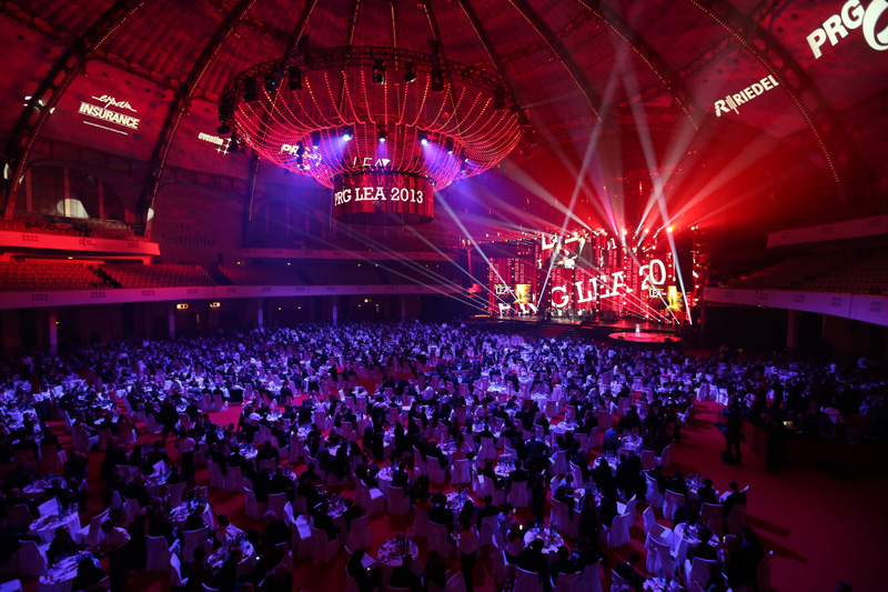 Live Entertainment Award 2013 - die Festhalle - Frankfurt ( @ public address)