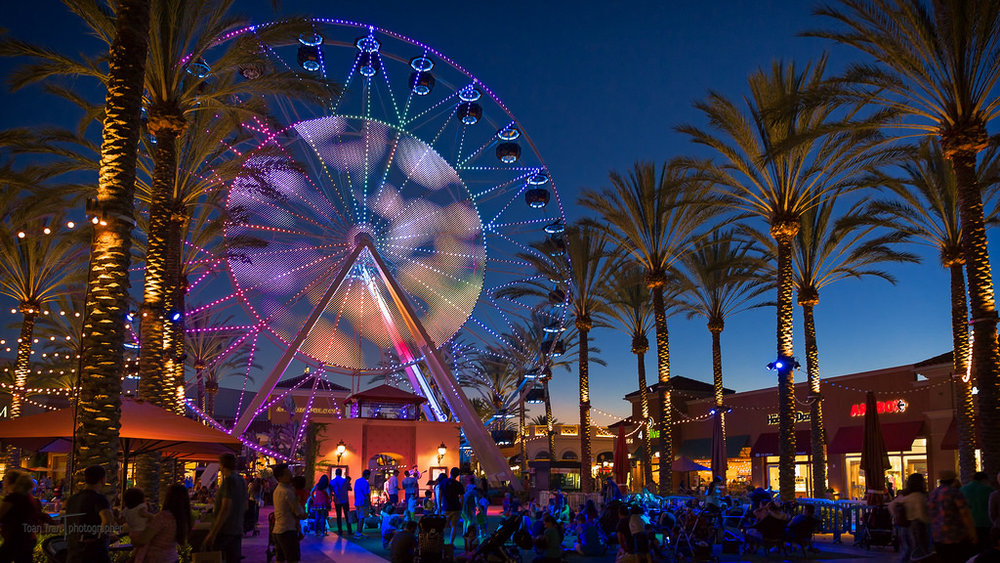 Irvine Spectrum Center Giant Wheel