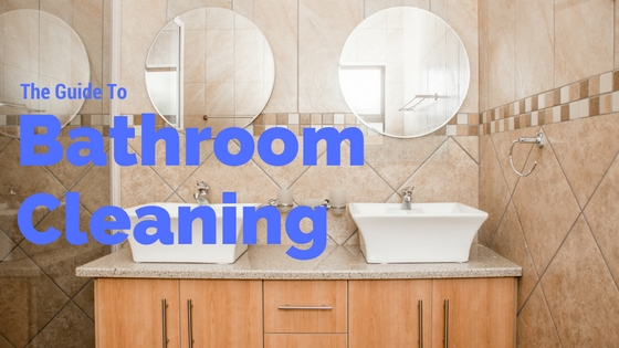 How To Clean A Bathroom Expert Tips - What to clean bathroom floors with