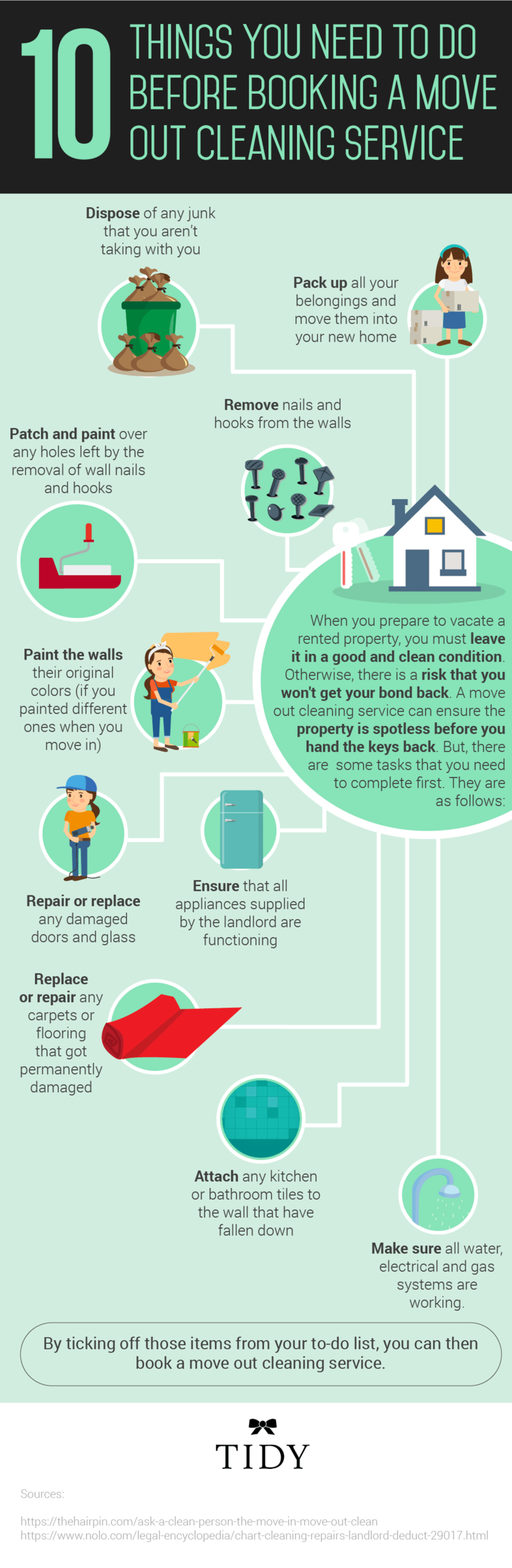 10 Things To Do Before Booking a Move Out Cleaning Service