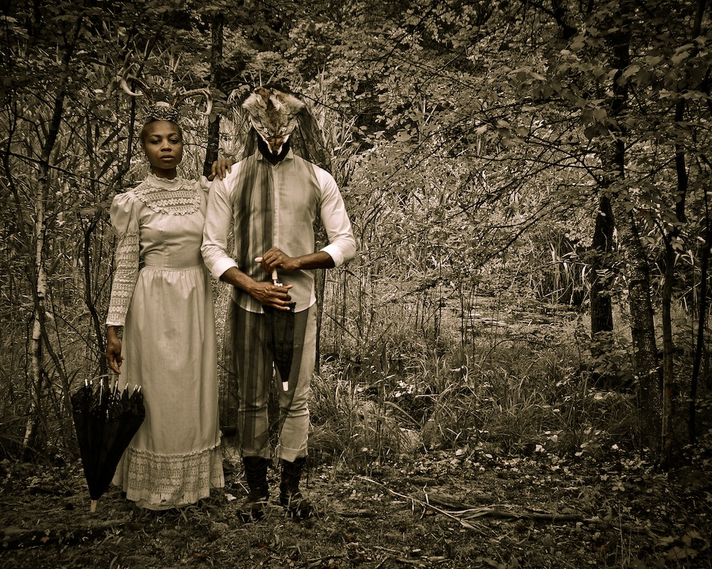 Allison Janae Hamilton, Haints at Swamp II, 2014