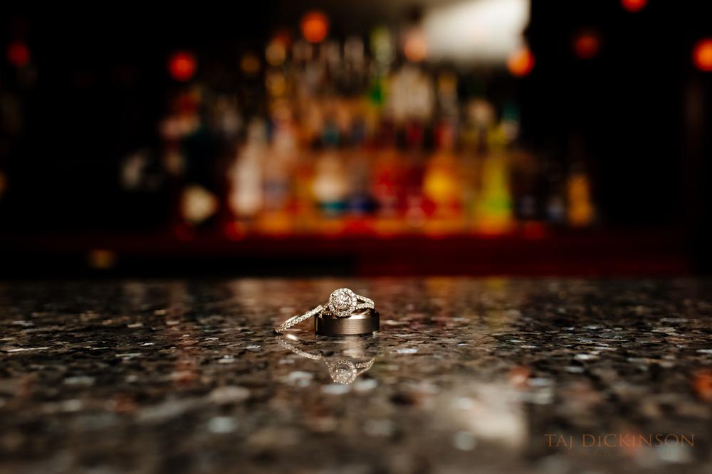 wedding rings detail macro close up