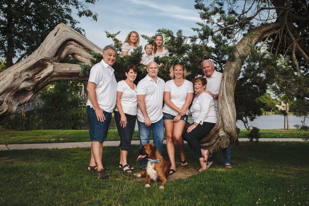 family portrait divine park spring lake nj