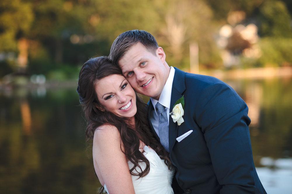 wedding portrait, mountain lakes club, nj