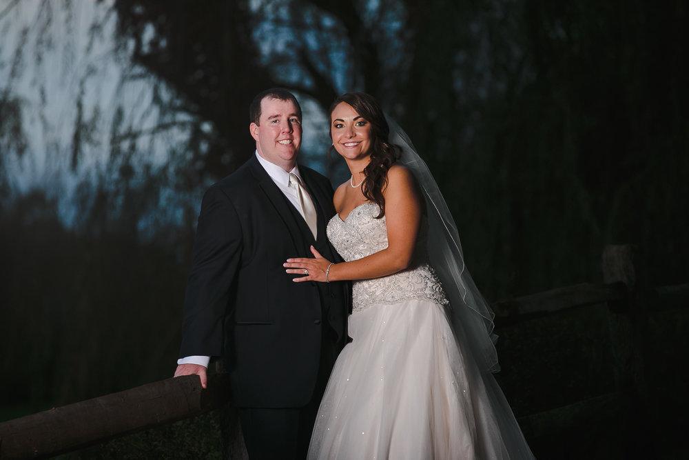 wedding portrait bride groom manor house at commonwealth horsham pa