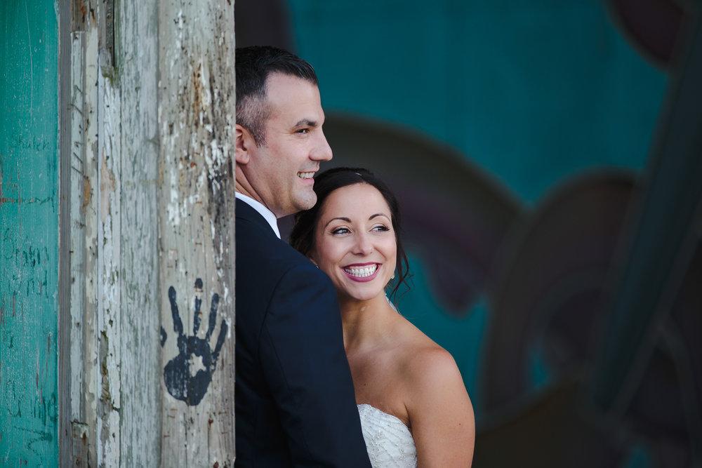 wedding portrait bride groom asbury park casino boardwalk nj