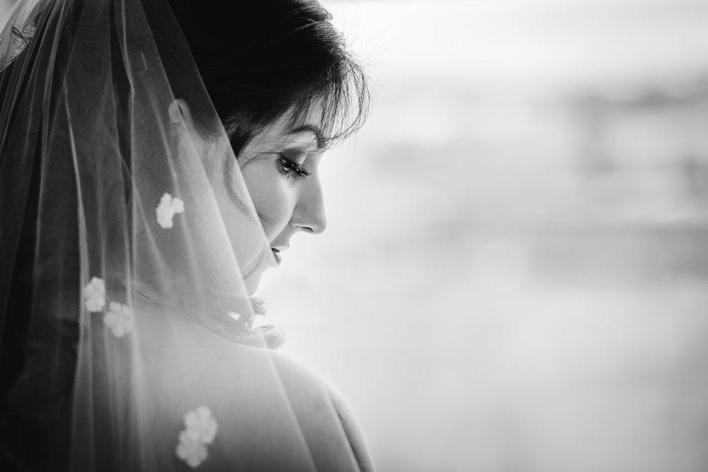 wedding bride portrait beauty shot - mansion on main, voorhees, nj