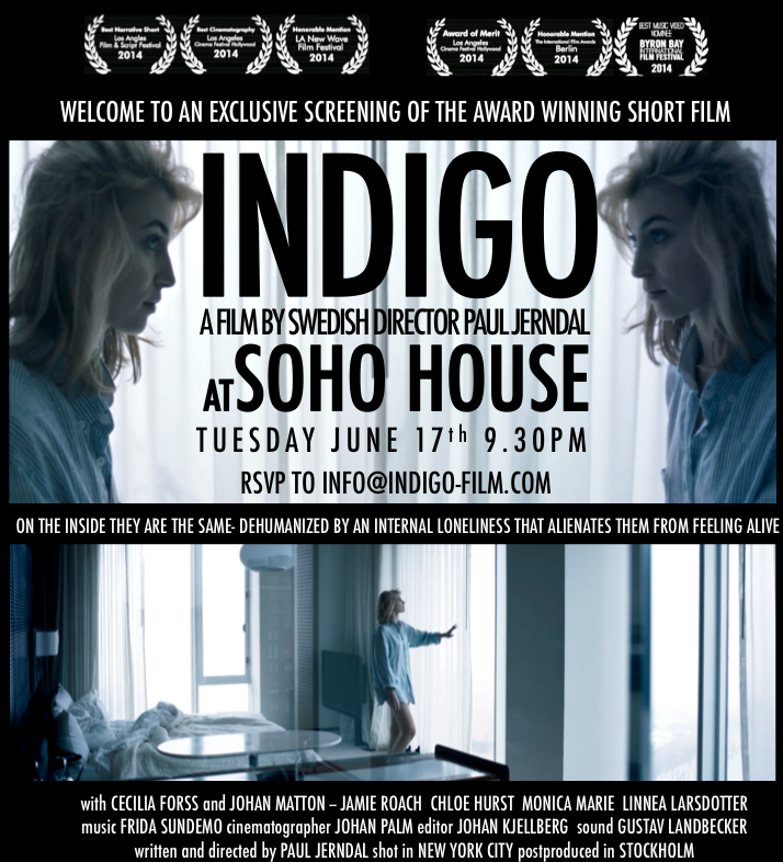 Exclusive Screening of Indigo at SOHO HOUSE West Hollywood.