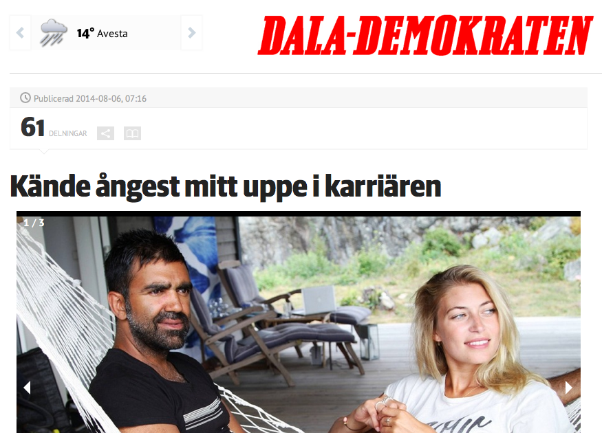 INTERVIEW IN DALADEMOKRATEN
