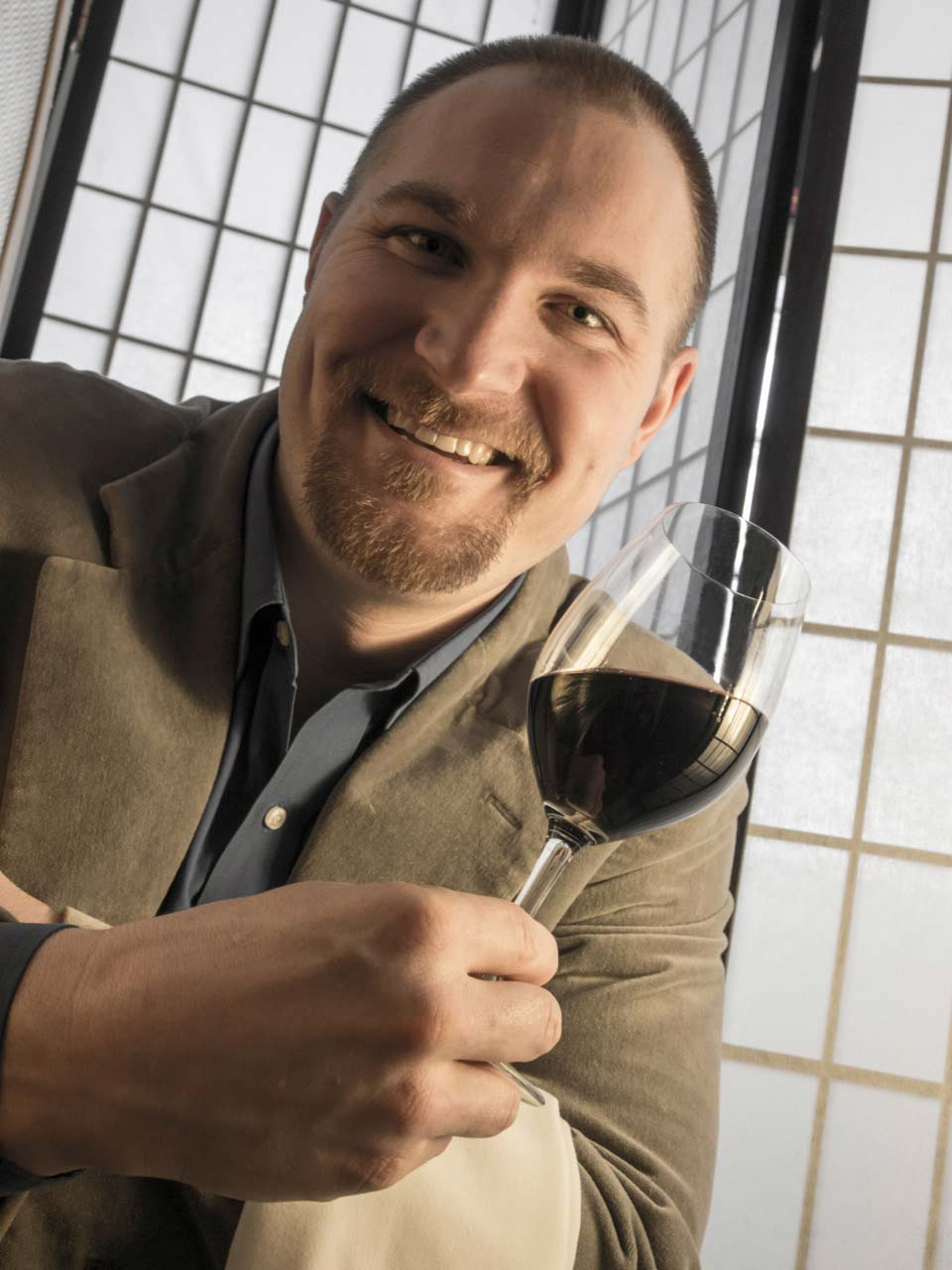 Marcus Hanson, sommelier and one of our music guys