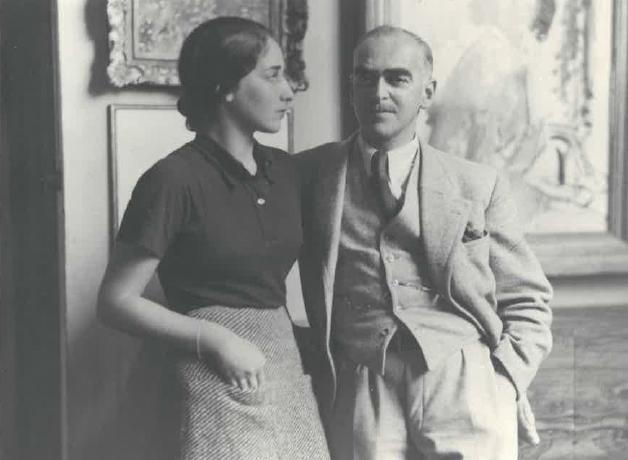 Eva Prager and Joseph Oppenheimer
