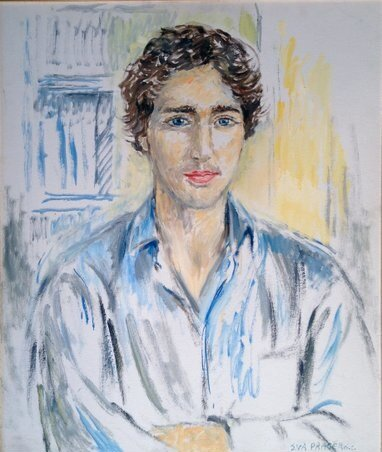 YOUNG JUSTIN TRUDEAU
