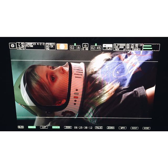 SPACE CADET #BTS #filmmaking #wildheartstudios #knoxville #convergentdesign