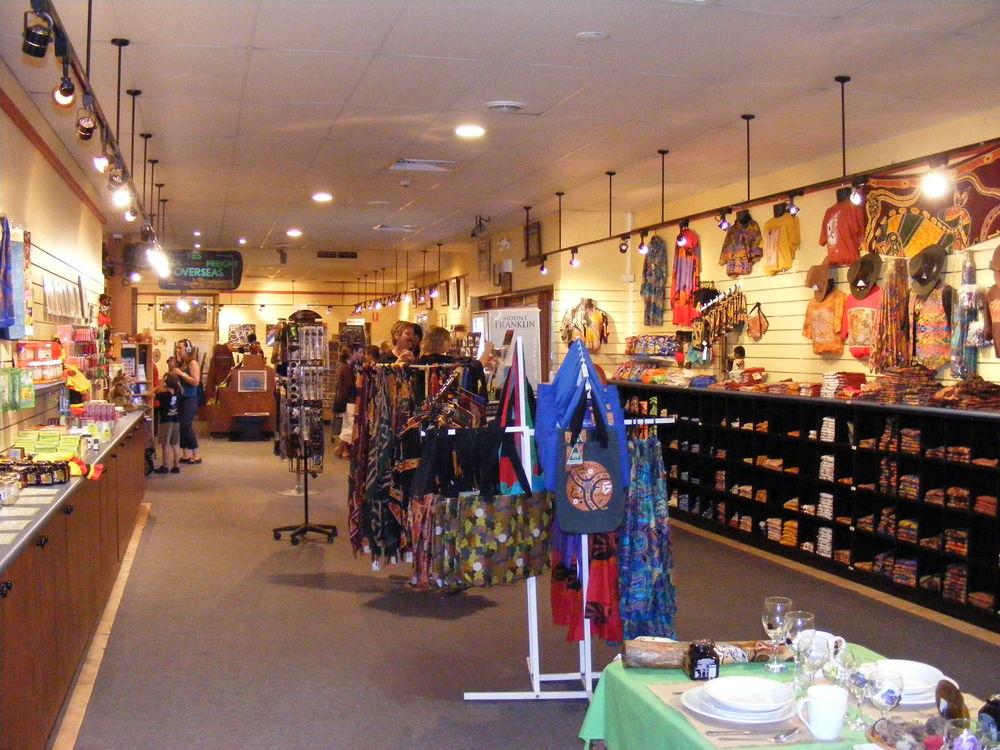Tjapukai store