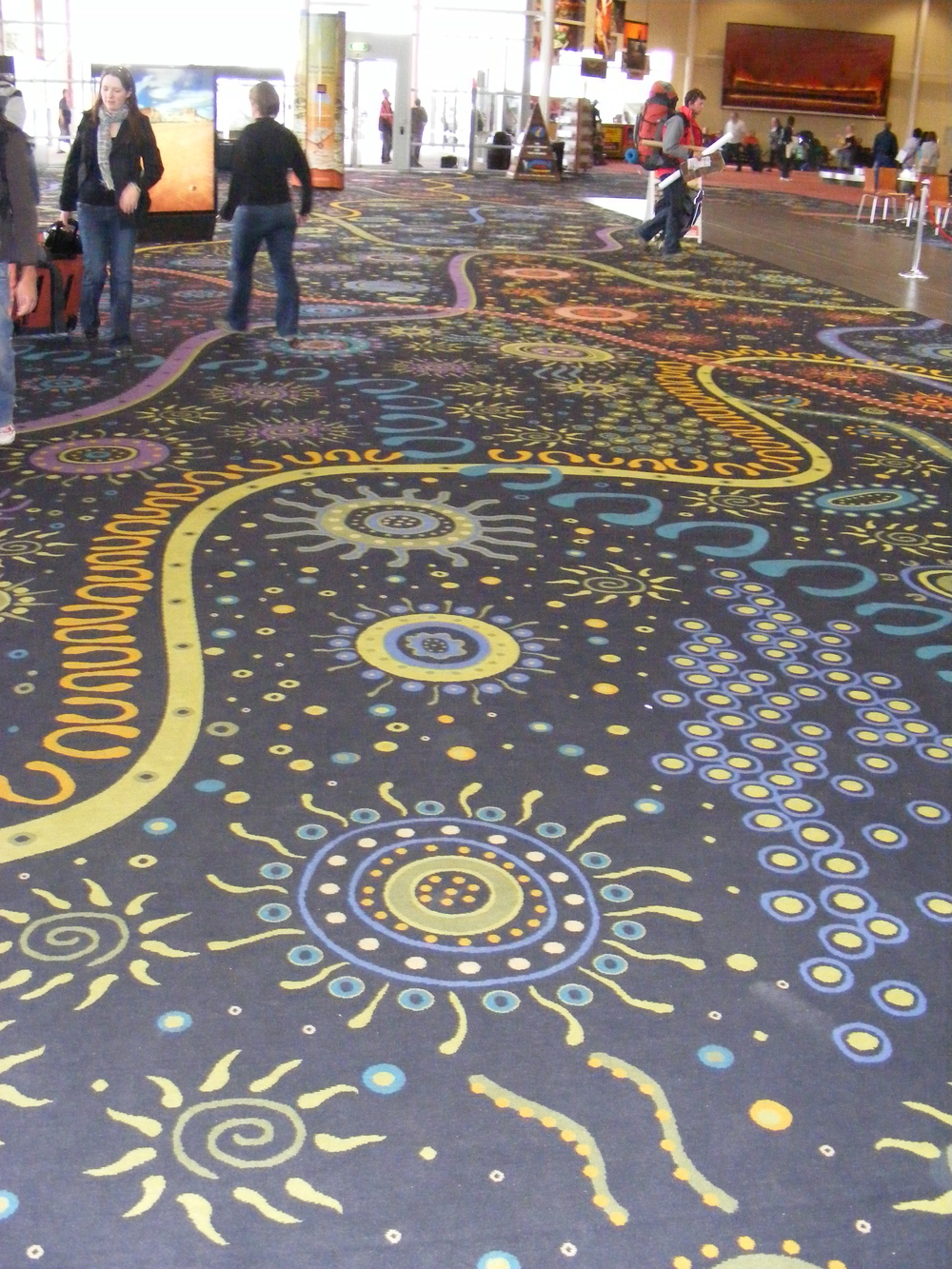Carpet at the airport