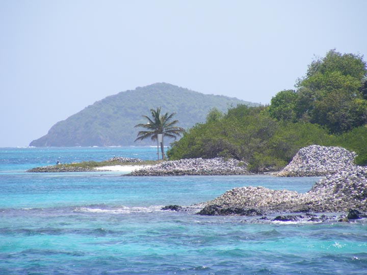 Entry to Tobago Cays
