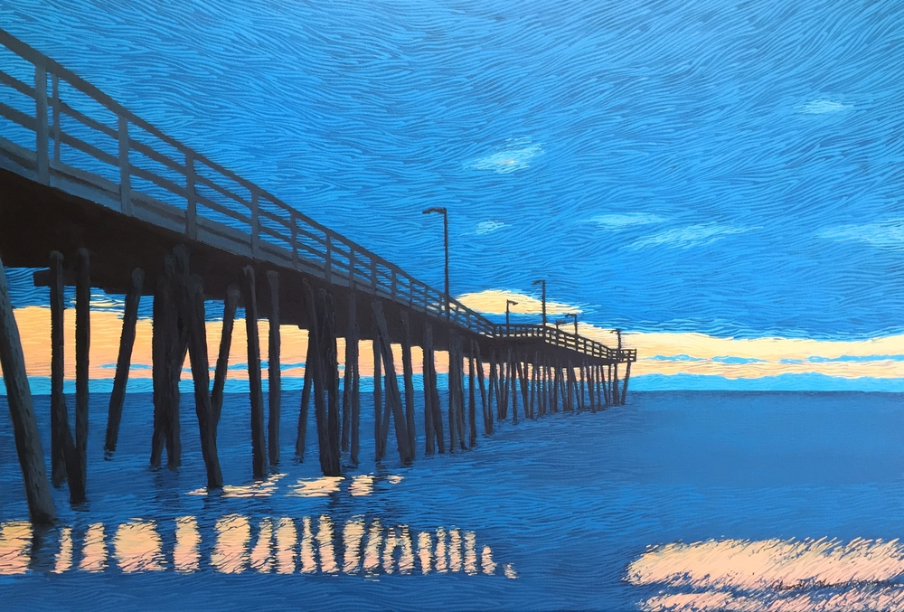 """PIER GROUP SERIES NO.4, BLUE DAWN"""