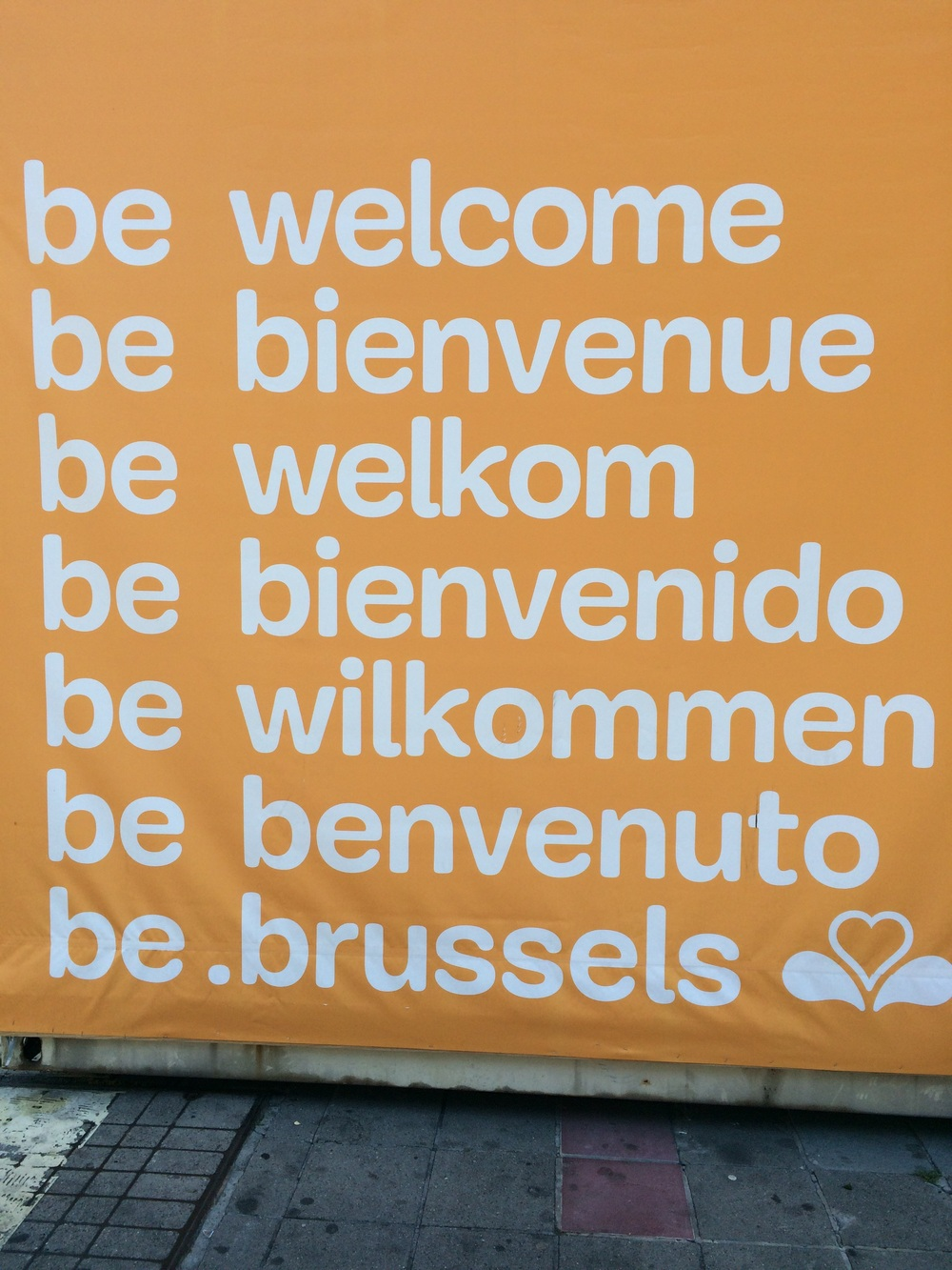 Welcome to Brussels!
