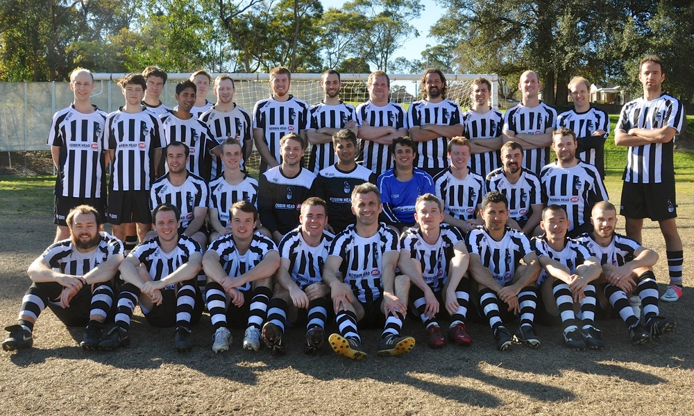 Mens All Age Playing Squad 2013