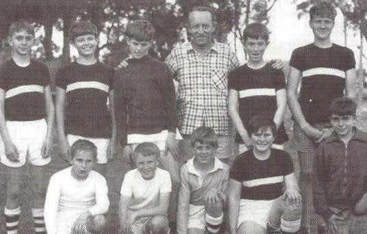North Turramurra Junior Soccer Club members (circa 1958)