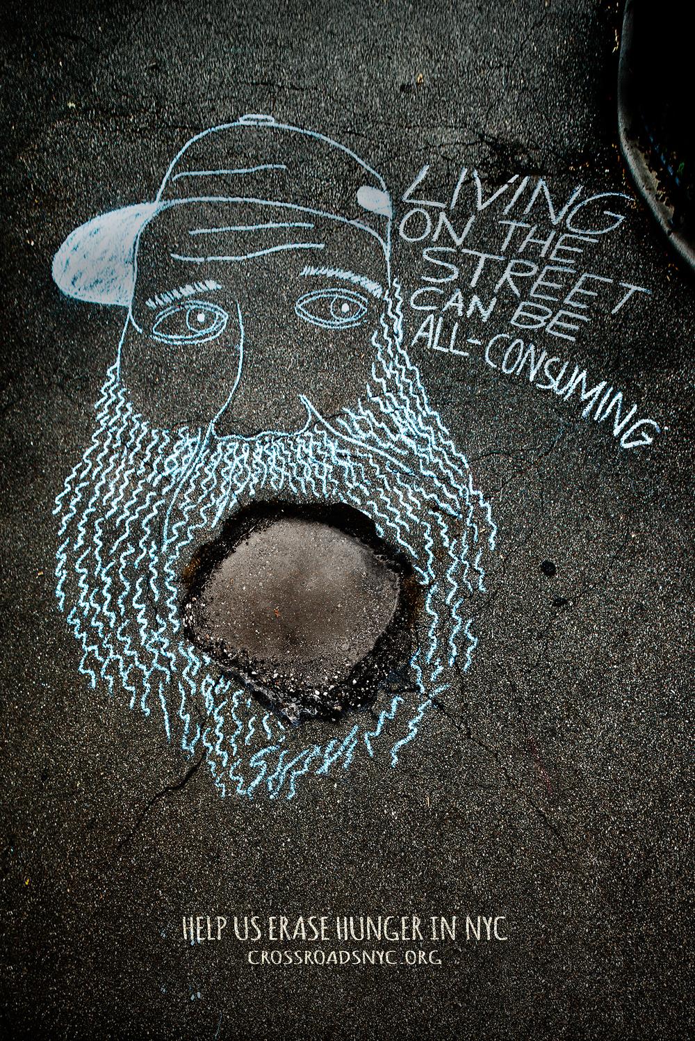 NYC |  Sidewalk Poster