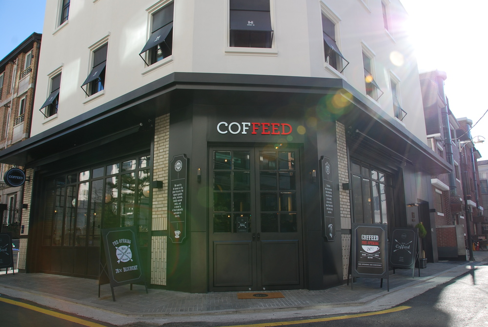 COFFEED Korea Exterior