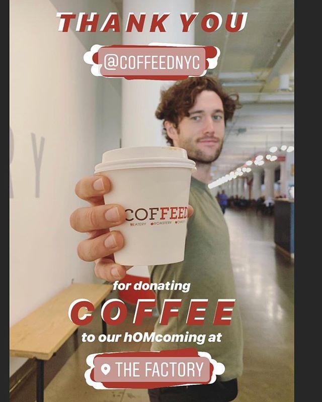 COFFED ❤️ @iam.hom ......... COFFEED ❤️ @thefactorylic .... #crushing #it