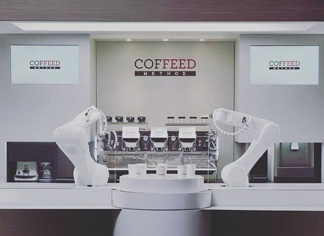 The future is now. #robotic #barista #ai