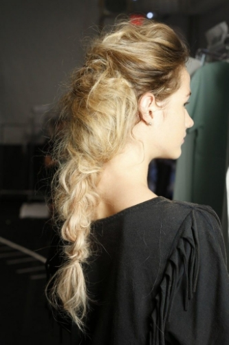 Runway Hair in Under 5 Minutes