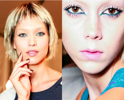 Runway Makeup Trends Spring 2014