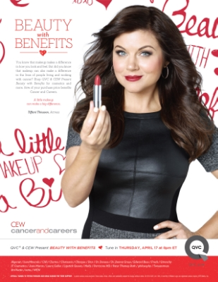 QVC CEW Tiffani Thiessen Beauty with Benefits
