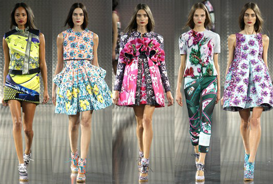 Mary Katrantzou SS14  London Fashion Week