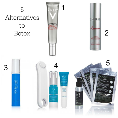 Alternatives to Botox