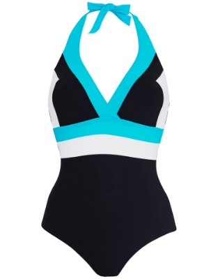 Figleaves Bold Colour Block Halter Shaping Swimsuit $86.jpg