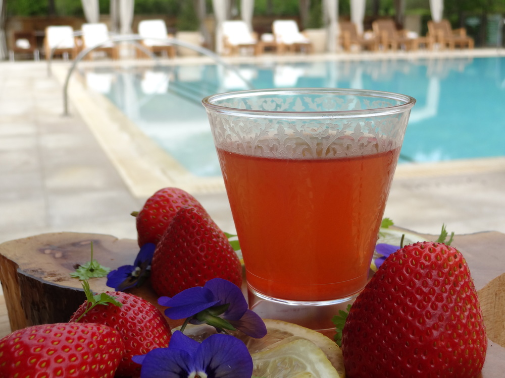 Strawberry Elixir Recipe National Strawberry Month