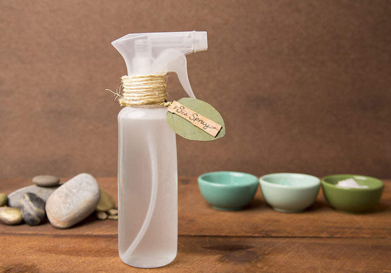 DIY Sea Salt Hair Spray