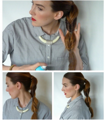 Hair Tutorial Ponytail Hairstyle