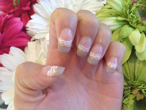 Wedding Nails Tutorial