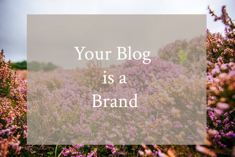 Your Blog is a Brand