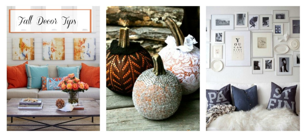 Fall Decorating Tips