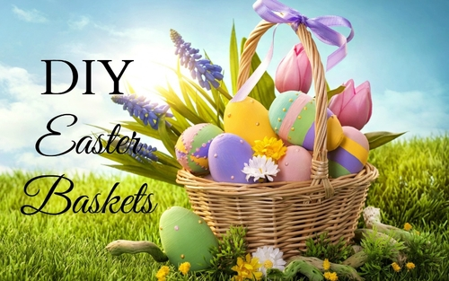 Creative diy easter basket ideas posh beauty blog diy easter basket ideasg negle Choice Image