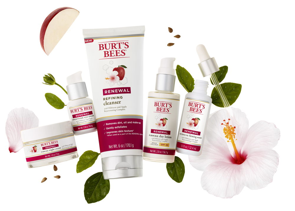 Burt's Bees Renewal Collection