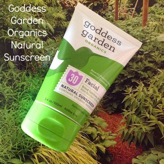 Goddess Garden Organics Sunscreen Nice Look