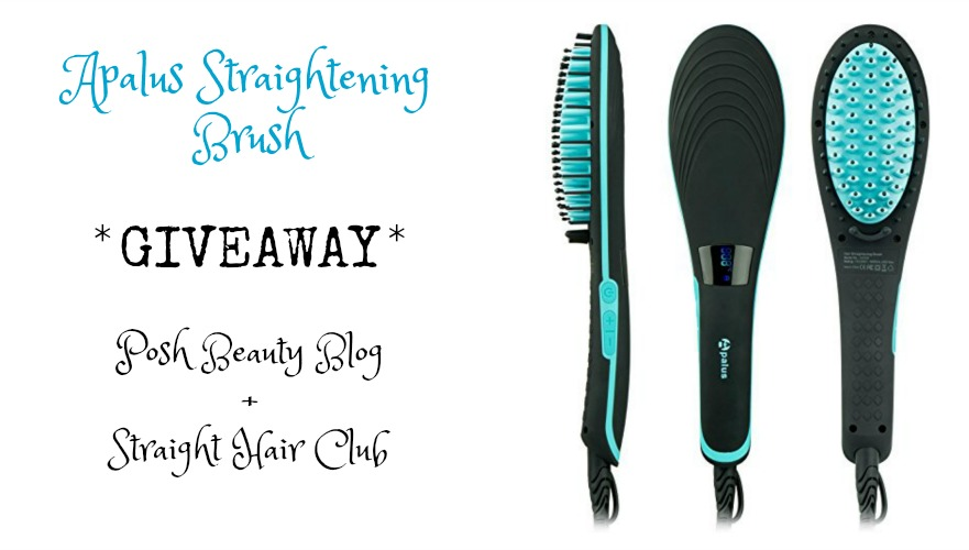 Apalus Hair Straightening Brush Giveaway