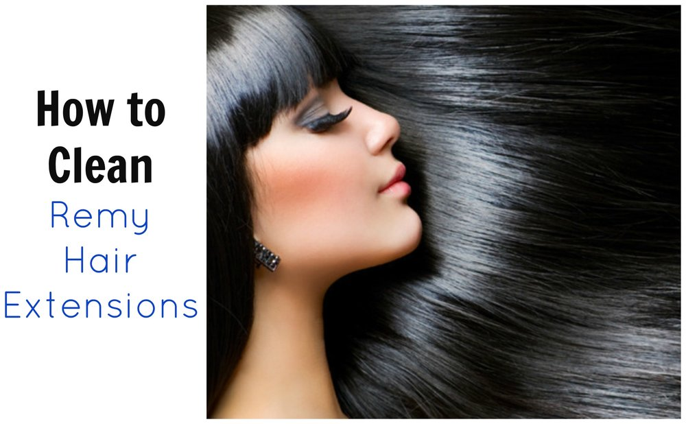 How to Clean Remy Hair Extensions
