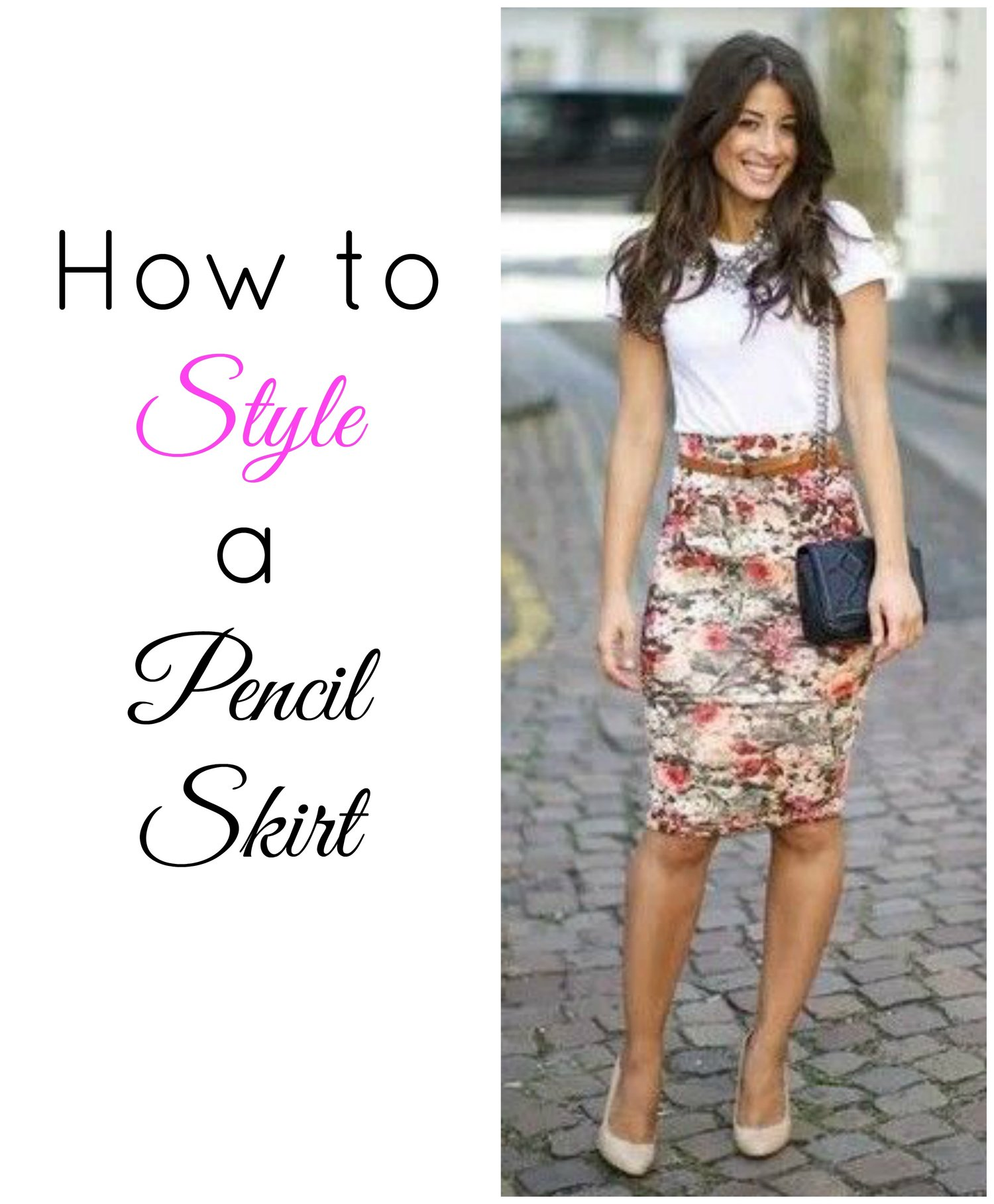 6276f6f70519 How to Style a Pencil Skirt — Posh Beauty Blog