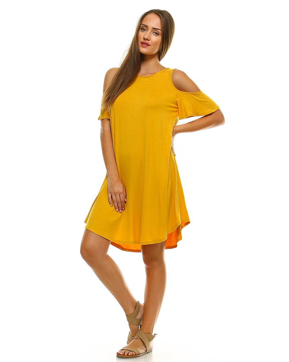 e0699ee6b3bf3 Amie Finery clothing for women has beautiful on-trend cold shoulder tunic  tops and dresses for women. I love my Cold Shoulder Swing Dress – it s so  ...