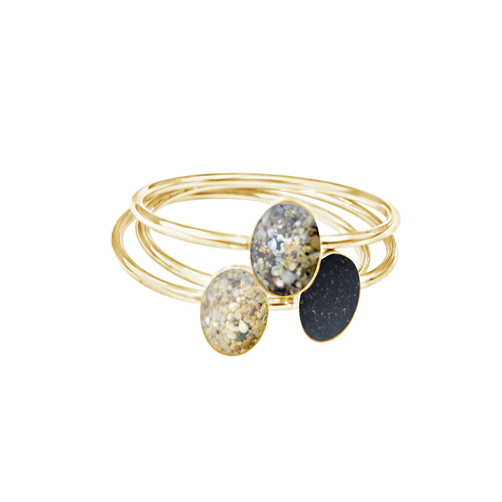 Dune Jewelry delicate oval stacker ring trio gold multisand.jpg