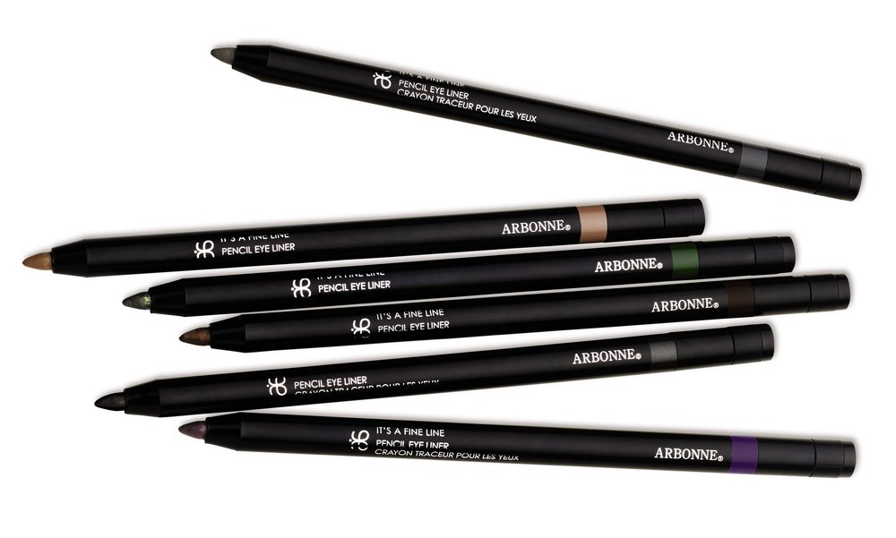 NEW Arbonne Cosmetics It's A Fine Pencil Eye Liner - Group Shot.jpg